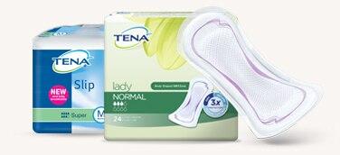 TENA Slip und TENA Lady