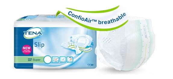 TENA Slip e TENA Comfort con ConfioAir™