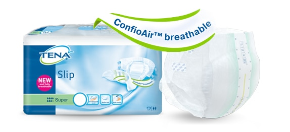 TENA Slip und TENA Comfort mit ConfioAir™