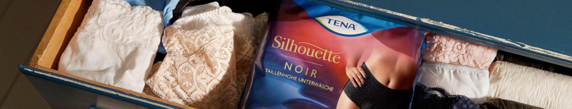 Das Gefühl von Unterwäsche. Der Schutz von TENA.