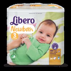 Libero Newborn Size 3 packshot