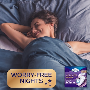 Worry free nights designed for nighttime usage.