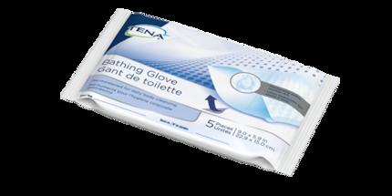 Image of TENA Bathing Glove Package