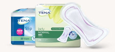 TENA Slip and TENA Lady