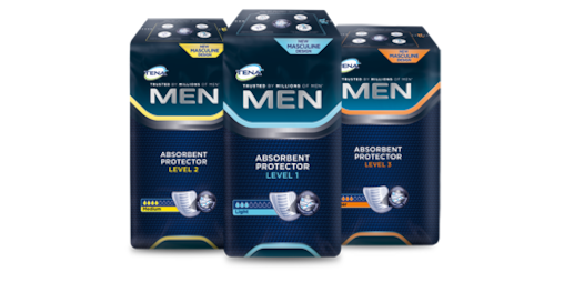 Produtos TENA Men