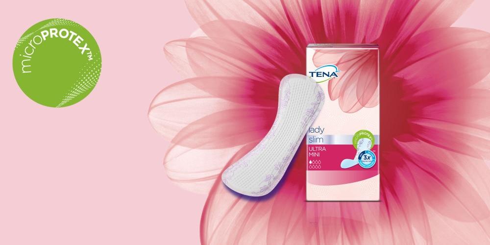 Predstavujeme nové inkontinenčné slipové vložky TENA