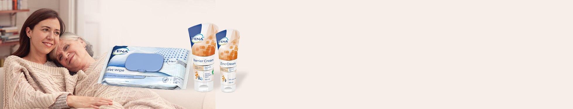 Wypróbuj darmowy zestaw próbek kosmetyków TENA