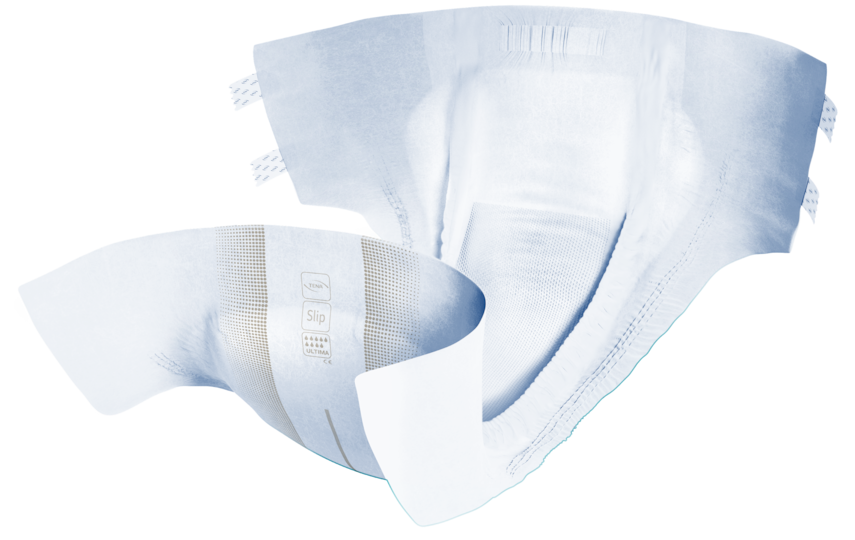 TENA Slip Active Fit Ultima | Absorberande inkontinensskydd i vuxenstorlek med plastad baksida