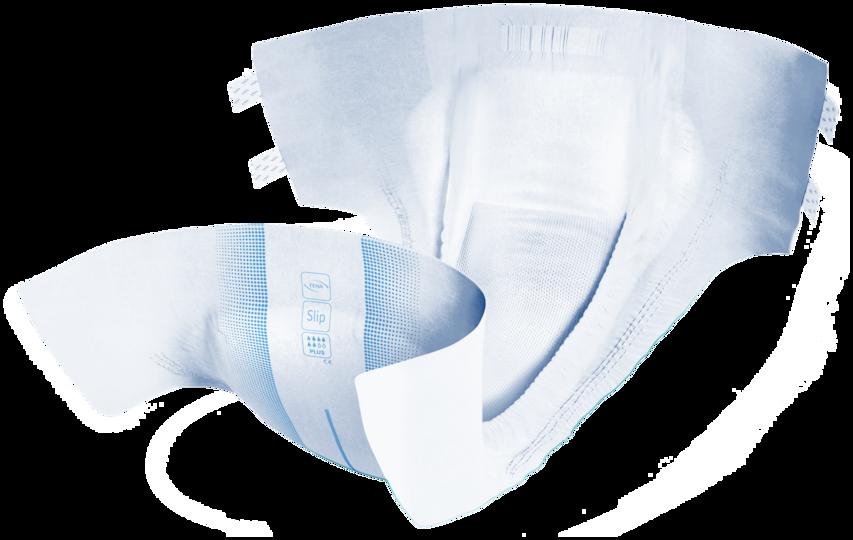 TENA Slip Active Fit Plus | Absorberande inkontinensskydd i vuxenstorlek med plastad baksida