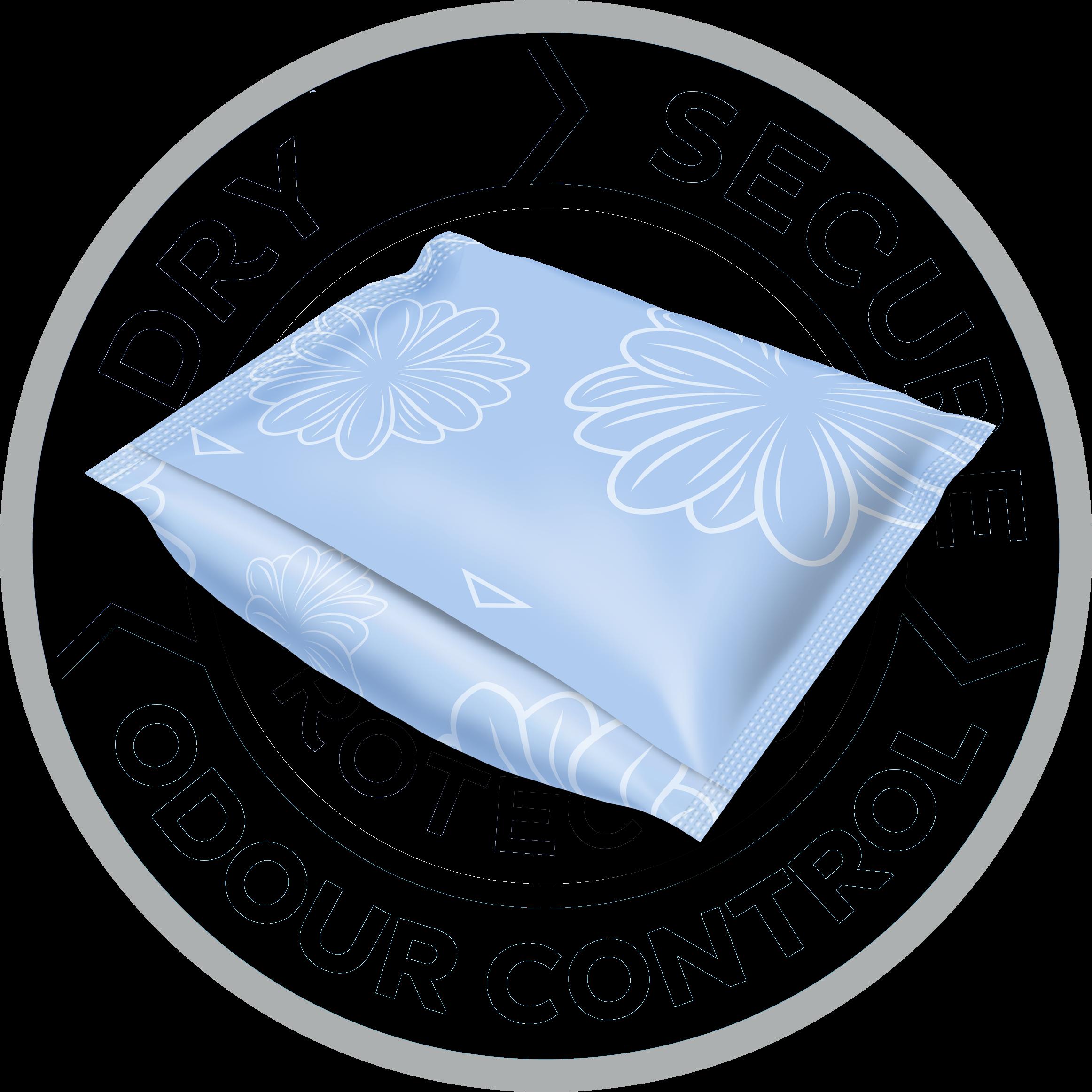 Gli assorbenti per incontinenza TENA Discreet sono confezionati singolarmente