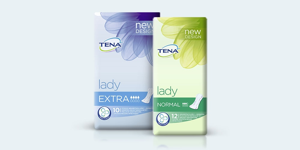 Asortiman proizvoda za žene TENA