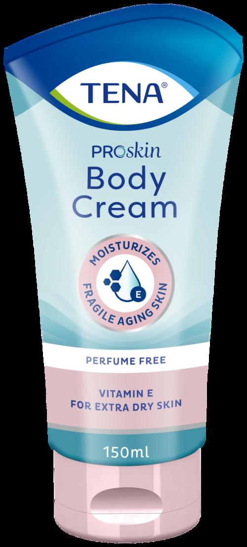 Telový krém TENA ProSkin Body Cream  Bohatý hydratačný krém na extra suchú pokožku