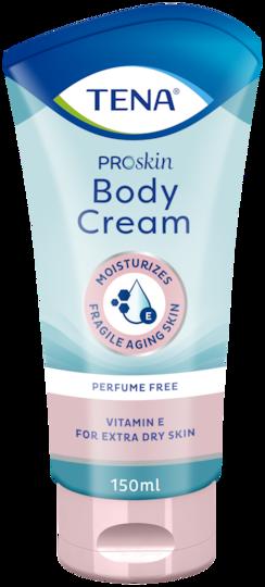 TENA ProSkin Body Cream Vartalovoide | Täyteläinen kosteuttava voide erittäin kuivalle iholle