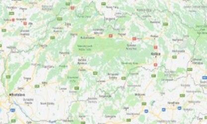 Mapa Slovenské republiky