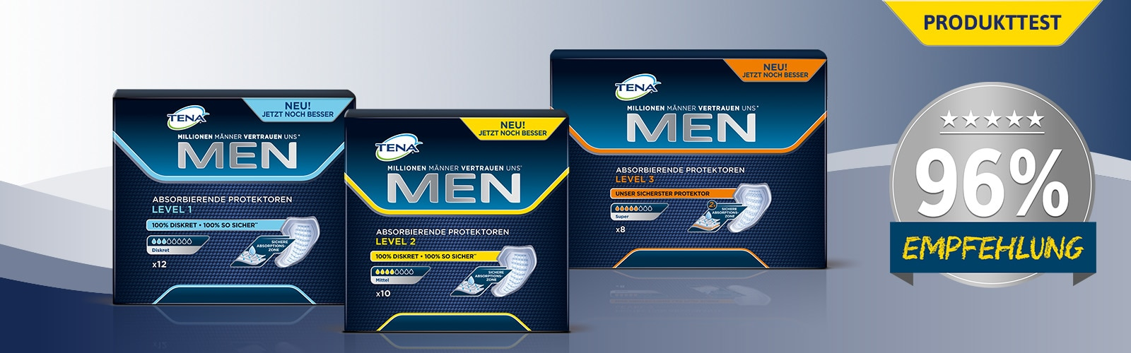 TENA MEN Produkttest