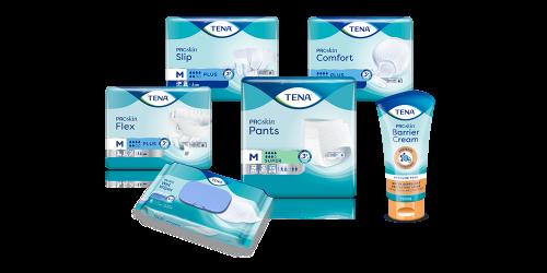 Choose TENA ProSkin Flex for skin health and efficiency