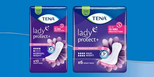 Balenie vložiek na noc TENA Lady