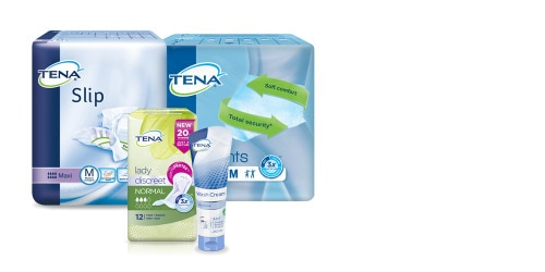 TENA product packshots