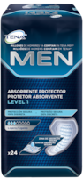 Protetor Absorvente TENA MEN Level 1 – Pensos masculinos absorventes e seguros para perdas de urina e incontinência ligeiras