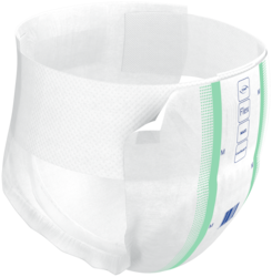 TENA ProSkin™ Flex Maxi with elastic ComfiStretch belt ensures comfortable fit and leakage security