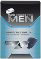 TENA Men Protective male incontinence Shield for small urine leaks, drops and dribbles