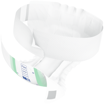 TENA ProSkin™ Flex Briefs Super are designed to allow easier and more ergonomic product changes