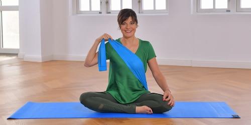 Yoga Pilates Übung - Der Aufrichtungsimpuls