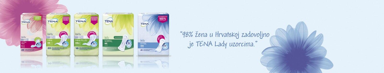 TENA Lady asortiman