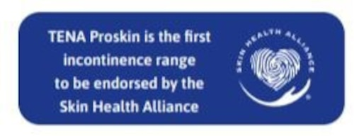 TENA is endorsed by the Skin Health Alliance