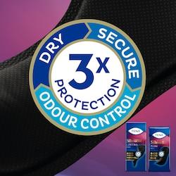 Triple Protection contre les petites fuites urinaires, les odeurs et l'humidité