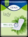 TENA Lady Mini Plus | Angenehm weiche und sichere Einlage bei Blasenschwäche für Frauen
