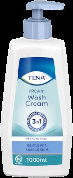 TENA Tvättkräm | För rengöring av hela kroppen utan vatten