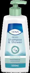TENA ProSkin Shampoo & Shower Suihkushampoo | Shampoon ja suihkugeelin yhdistelmä