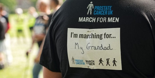 Prostate Cancer walking for my grandad