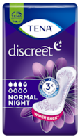 TENA Discreet Normal Night | Bind for inkontinens om natten