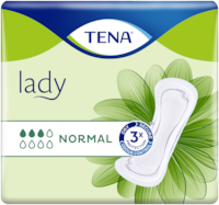 TENA Lady Normal | Assorbenti per l'incontinenza femminile morbidi ed efficaci