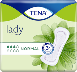 TENA Lady Normal | Compresas suaves y seguras para la incontinencia femenina
