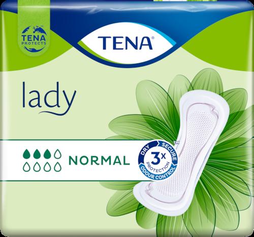 TENA Lady Normal Jemné a spolehlivé inkontinenční vložky pro ženy