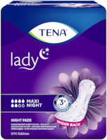 TENA Lady Maxi Night | Incontinence pad