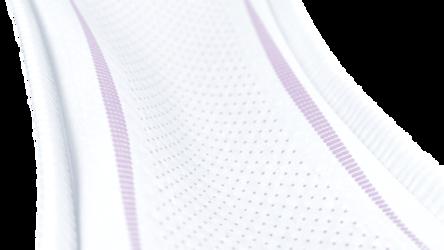 Minkšti, elastingipaketo kraštai puikiam prigludimui