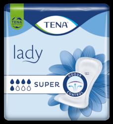 TENA Lady Super | Angenehm weiches und sicheres Inkontinenzprodukt bei Blasenschwäche für Frauen