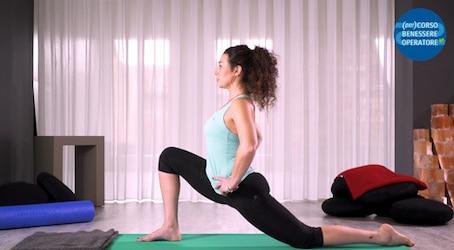 Allungamento lombare dell'anca