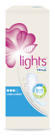 lights by TENA Protège-slip Long Paquet