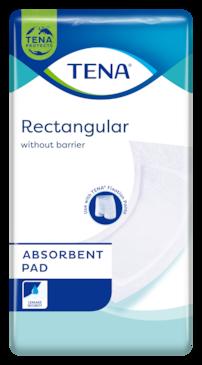 TENA Rectangular | Protezione assorbente per incontinenza senza barriere