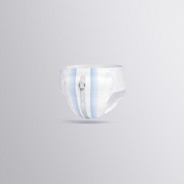 Skifteindikatoren fastgøres på ydersiden af inkontinensproduktet