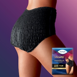 TENA Silhouette Plus High Waist Noir