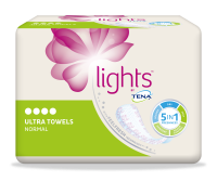 lights by TENA ultra verband normaal, urineverlies, incontinentieverband voor vrouwen