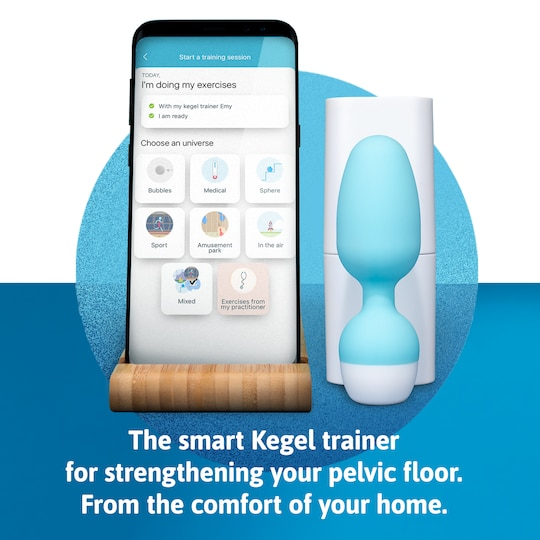 Smart kegel trainer for strenghtening your pelvic floor