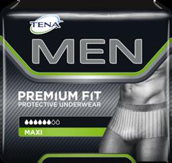 TENA Men absorberende bukseble med optimal pasform billede af pakke