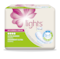 lights by TENA Ultra Towels with wings - Designed for small urine leaks